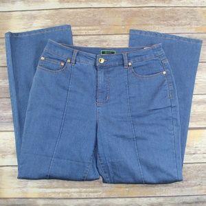 C. Wonder Straight Leg Jeans Size 10P